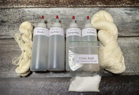 Dye Your Own Sock Yarn Kit